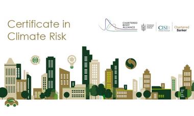 Certificate in Climate Risk